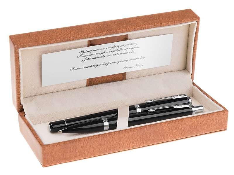 Parker Urban Pióro i Długopis London Cab Black Grawer Dedykacja