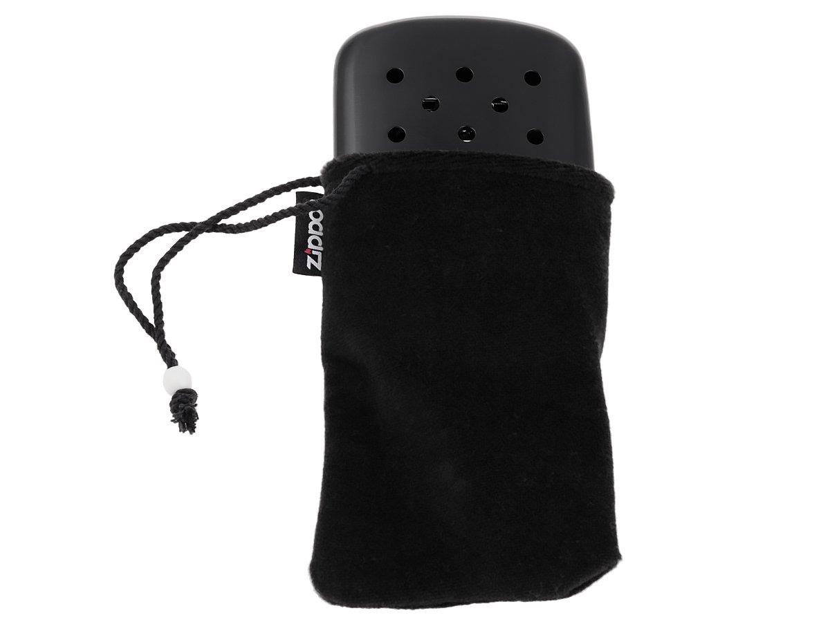 Oryginalny kieszonkowy ogrzewacz benzynowy Black ZIPPO + Twój Grawer