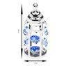 Butelka smoczek Swarovski błękitne kryształypamiątka chrztu  2