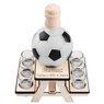 Komplet do alkoholu 7-częściowy Karafka i kieliszki piłka futbolowa z Grawerem 13