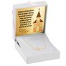 Naszyjnik celebrytka krzyżyk złoto pr. 585 z Grawerem 2