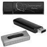 Pendrive czarno-czarny 16 GB Pamięć USB prezent z GRAWEREM 1