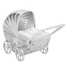 Skarbonka dla dziecka wózek - prezent na Chrzest, Baby Shower, Roczek   z Grawerem 4