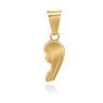 Złoty medalik z Matką Boską pr. 585 Pamiątka Chrzest Święty Komunia Bierzmowanie Grawer 1